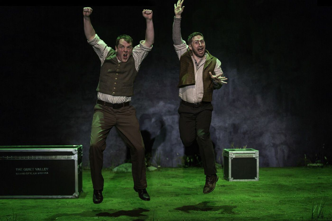 McCarter's 'Stones in His Pockets': Ireland, fantasy and reality