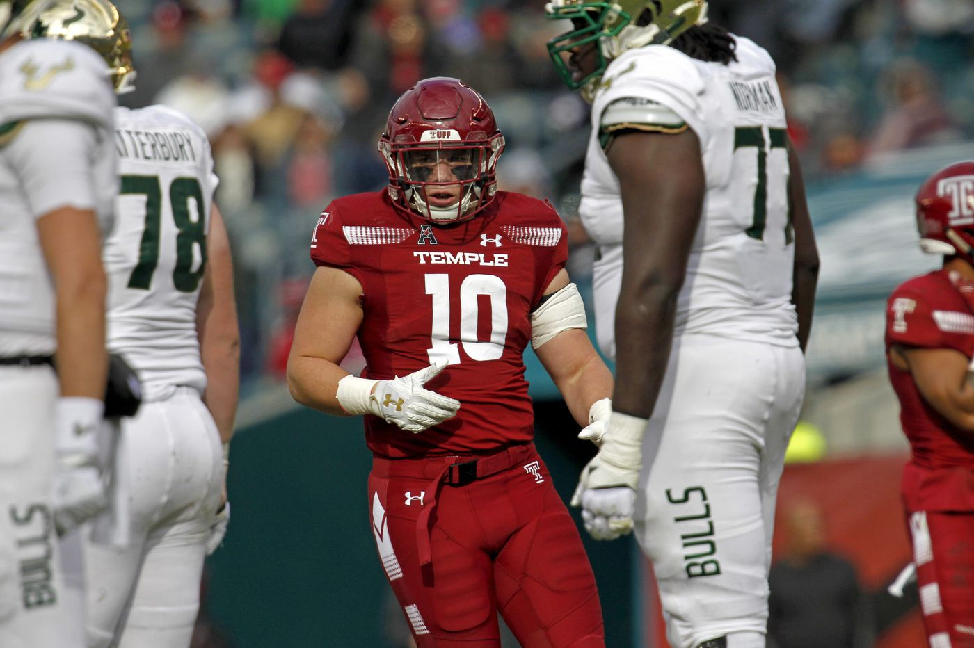 Temple's Zack Mesday has persevered, and it's paying off in a big way