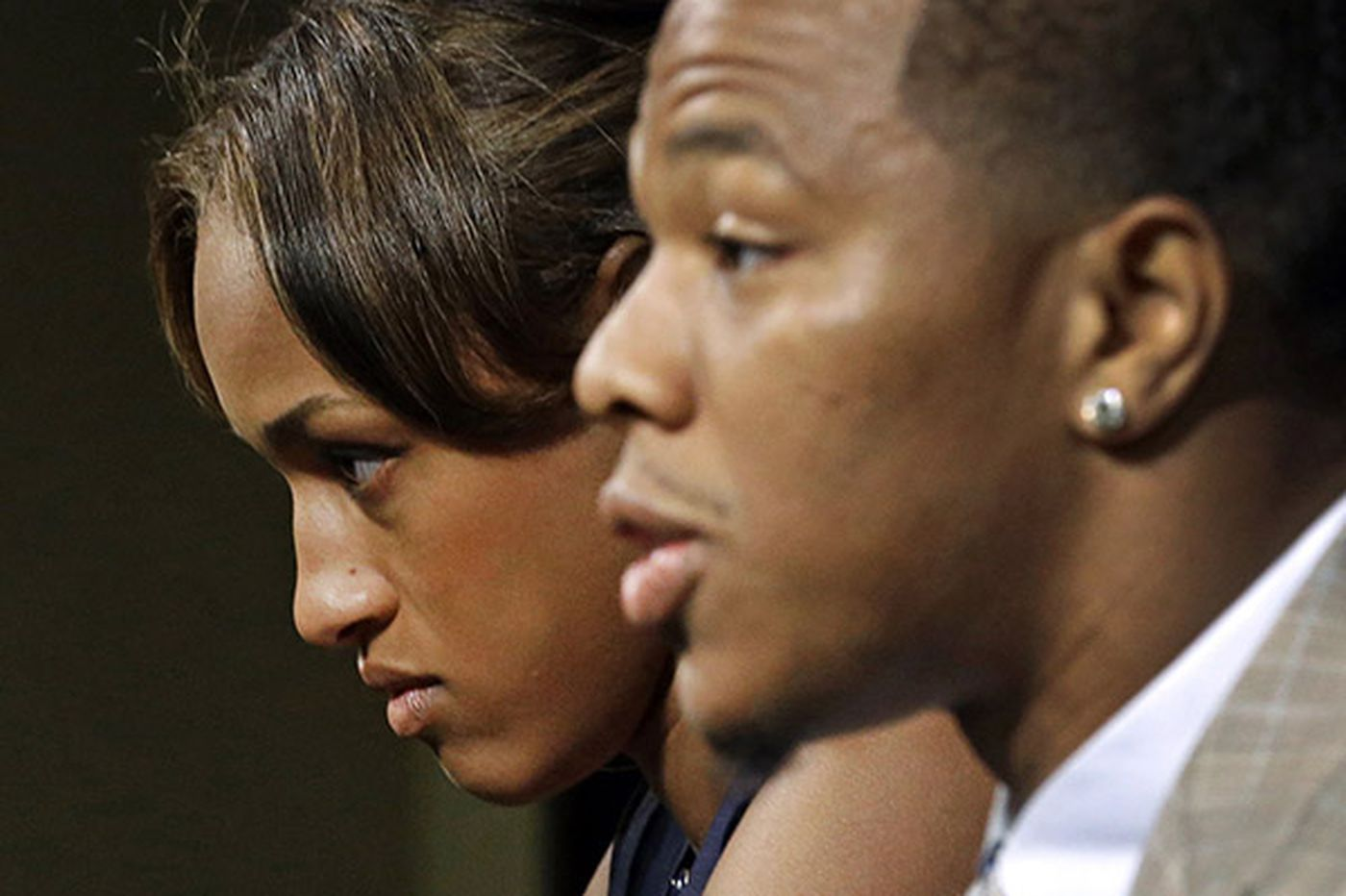Why does Janay Rice keep standing by her man?