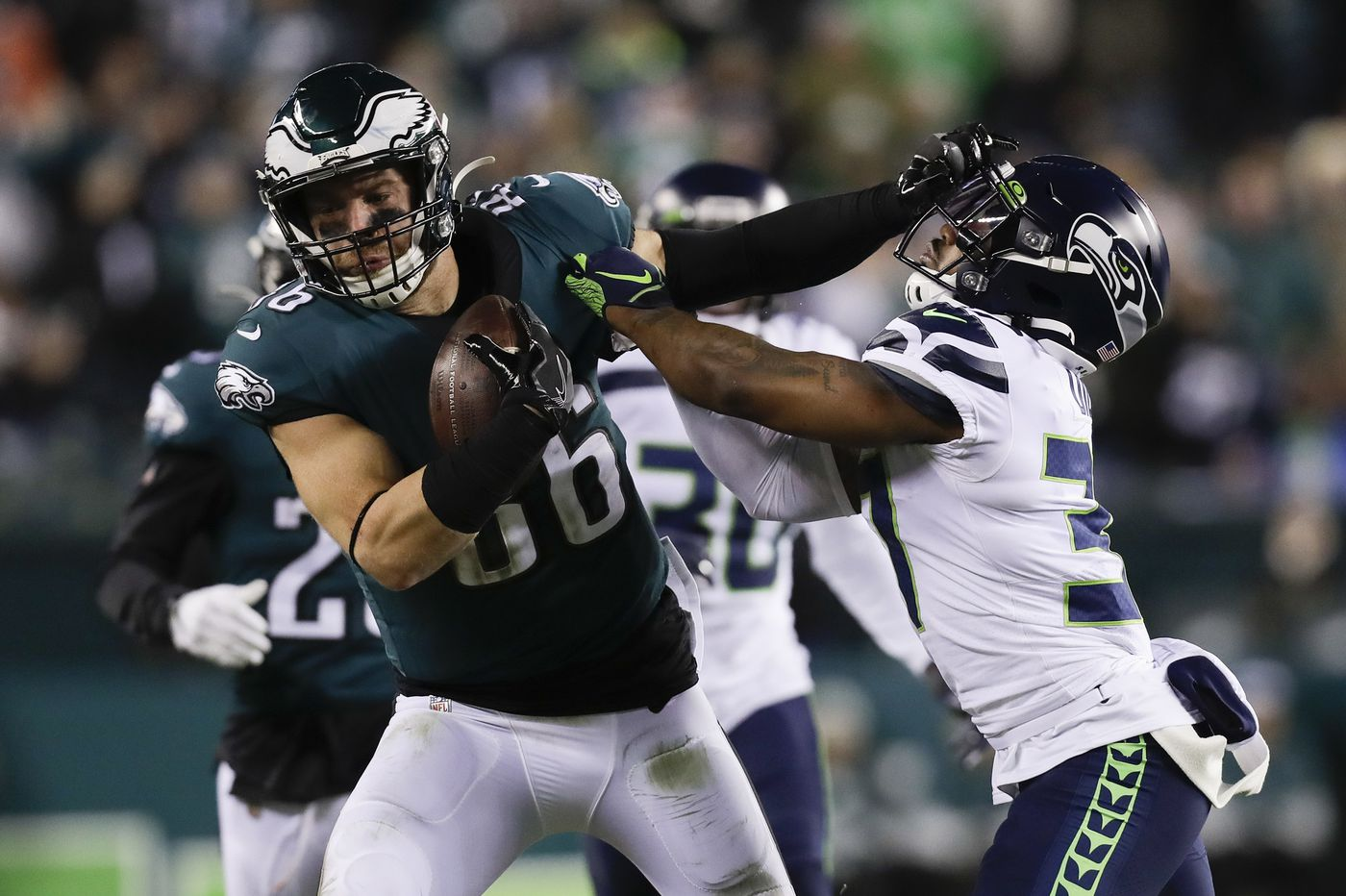 Will Eagles' added speed on the outside mean bigger and better things for Zach Ertz inside?