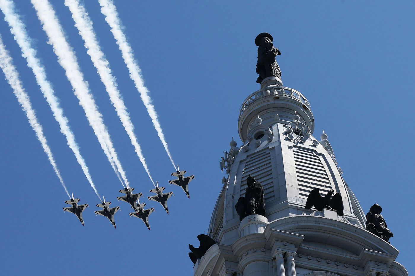 Thunderbirds July 4 flyover: Start time, flight path over Philadelphia, New York, Boston, and Baltimore