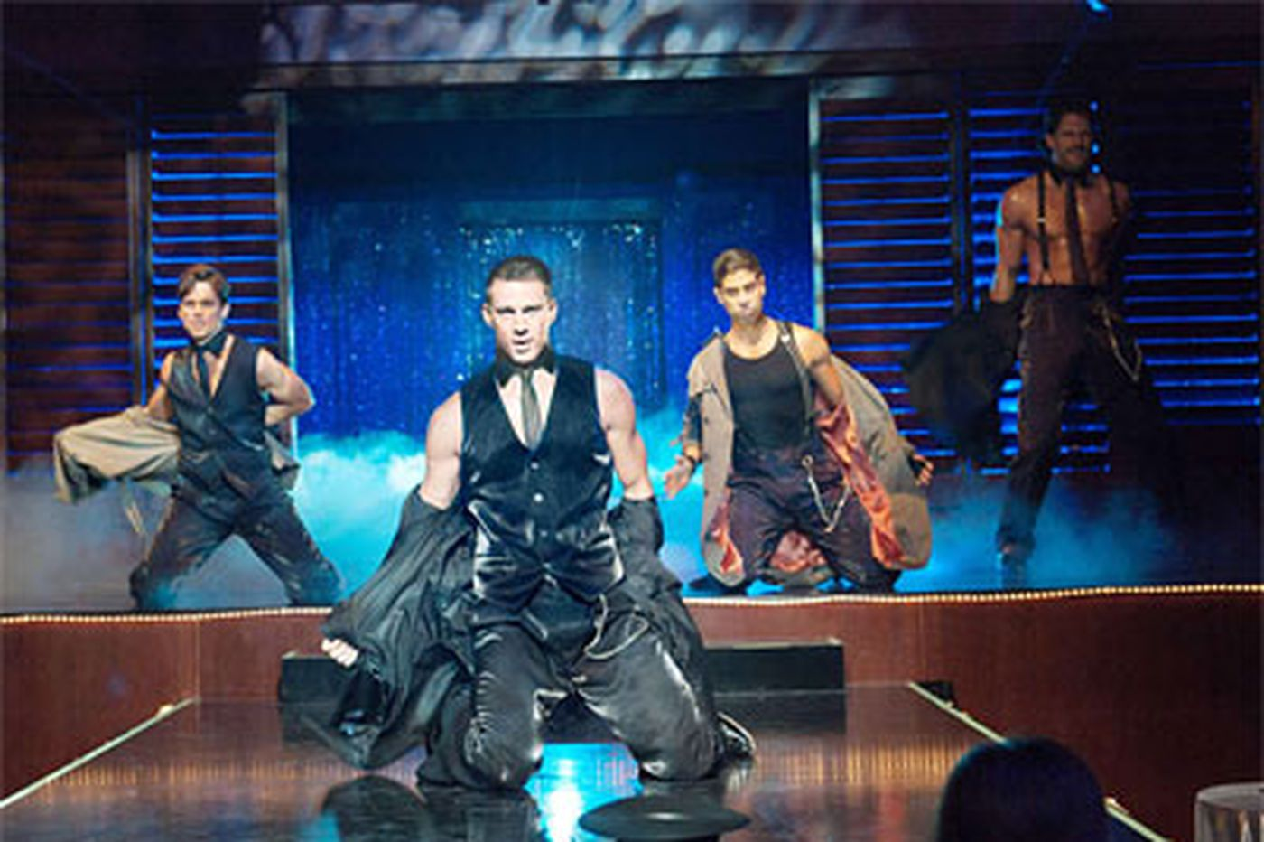 'Magic Mike': A backstage look at male strippers