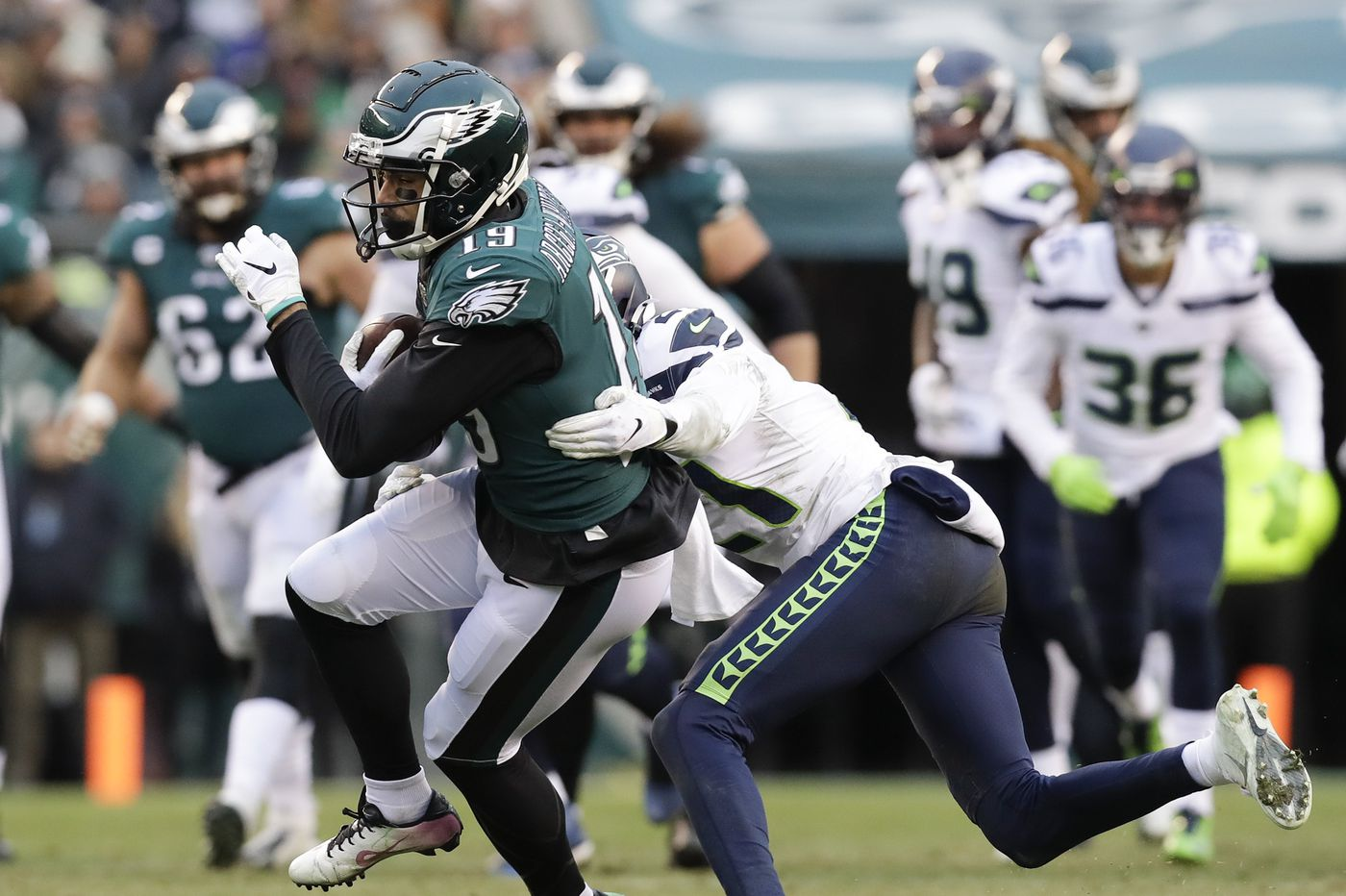 Grown-up rookie J.J. Arcega-Whiteside eager to prove Eagles drafted the right guy