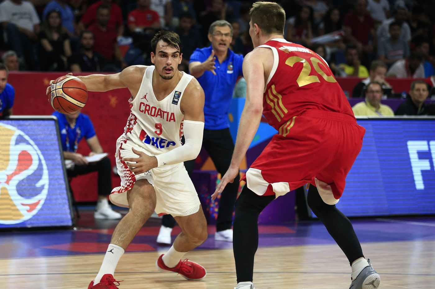 Dario Saric loves playing for his homeland. The Sixers will have to live  with the rocky starts it causes him  80743dc8f