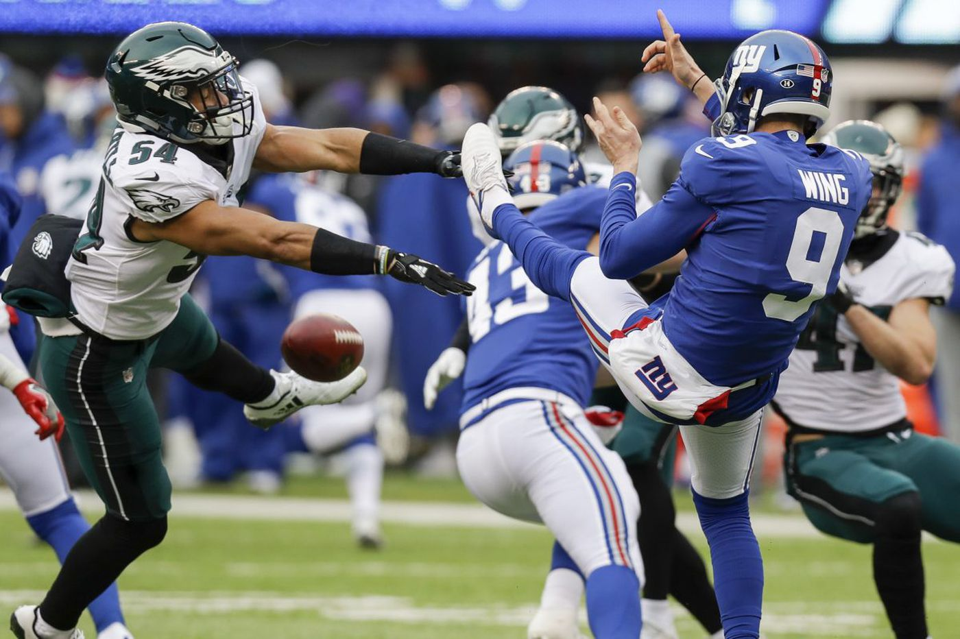 Eagles 34, Giants 29: Five quick observations on Nick Foles, Alshon Jeffery and the woeful defense