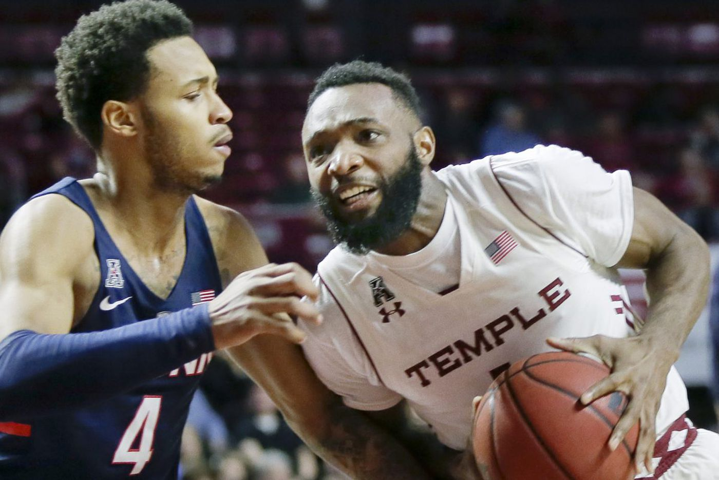 Temple bounces back with 85-57 rout of UConn