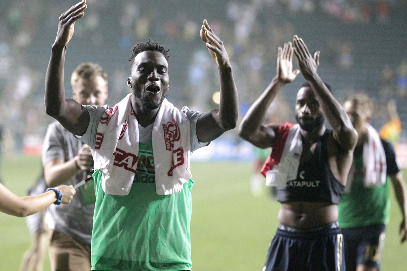 C.J. Sapong, Fafa Picault goals give Union 2-0 win at D.C. United, and record win streak