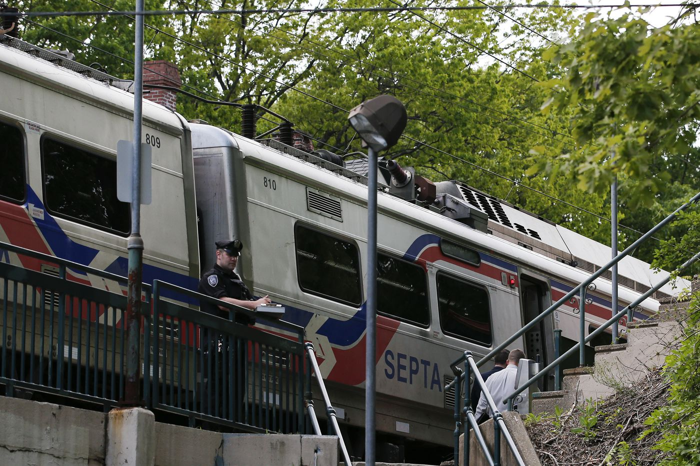 SEPTA conductor is shot in hip at Regional Rail stop in West Mount Airy