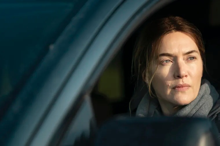 """This image released by HBO shows Kate Winslet in a scene from """"Mare of Easttown."""""""