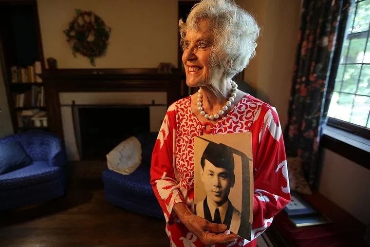 Mary Previte of Haddonfield will travel to China to personally express her gratitude to Wang Cheng-Han, the last member of a group of rescuers who liberated her and over 1,000 others from a Japanese prison camp in World War II.