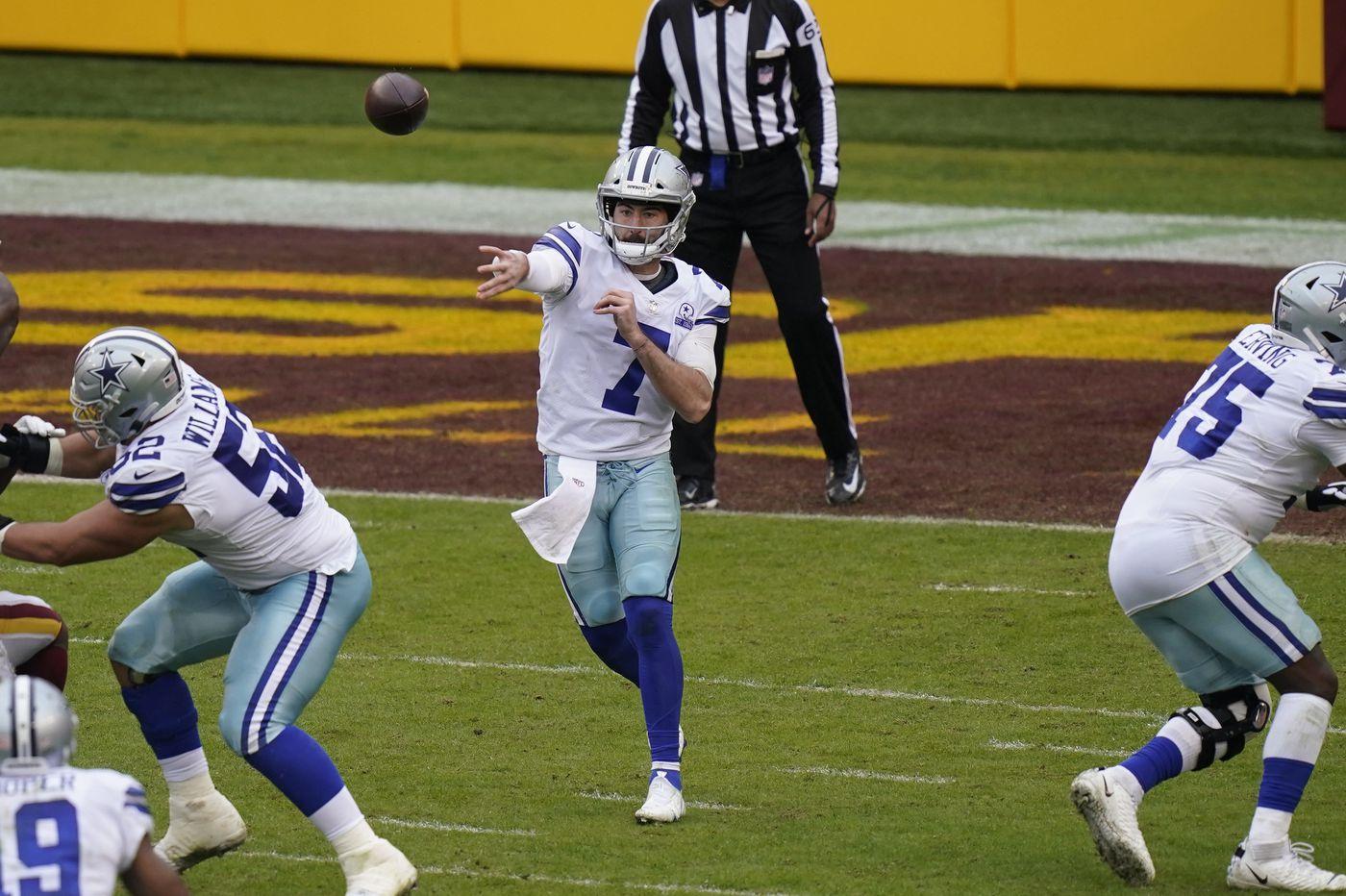 NFL picks Week 8: Vegas Vic says Cowboys are more dangerous with Dalton
