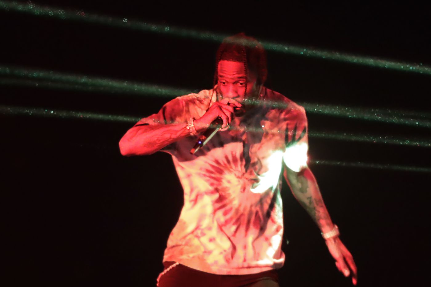 Travis Scott closes out Made in America 2019 with fireworks and controlled chaos