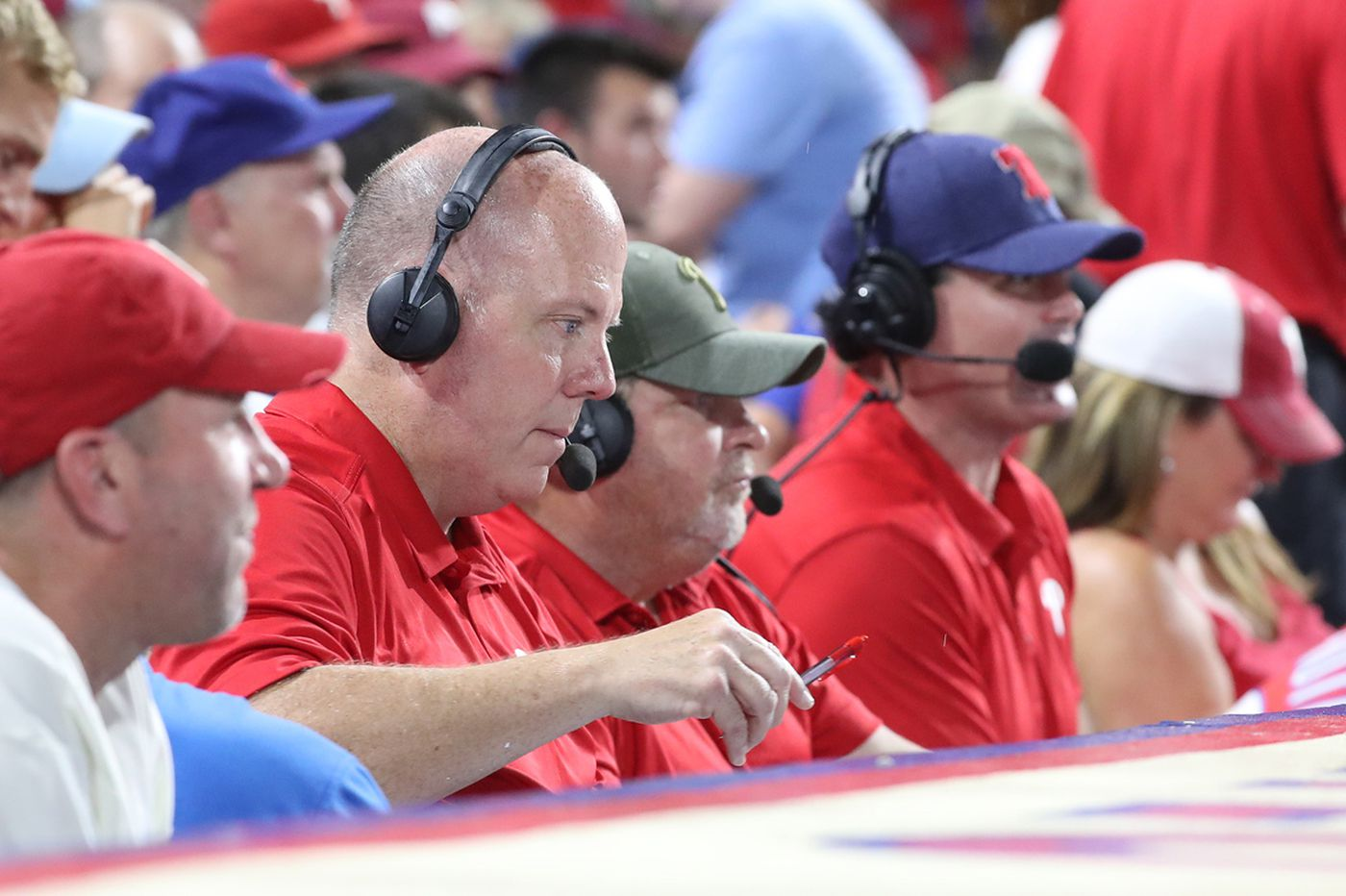John Kruk was miserable in the stands during Phillies