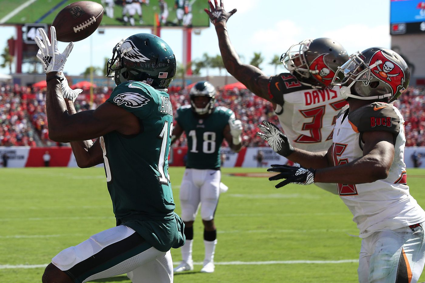 Inside? Outside? Eagles receiver Nelson Agholor is confident he can thrive wherever he lines up
