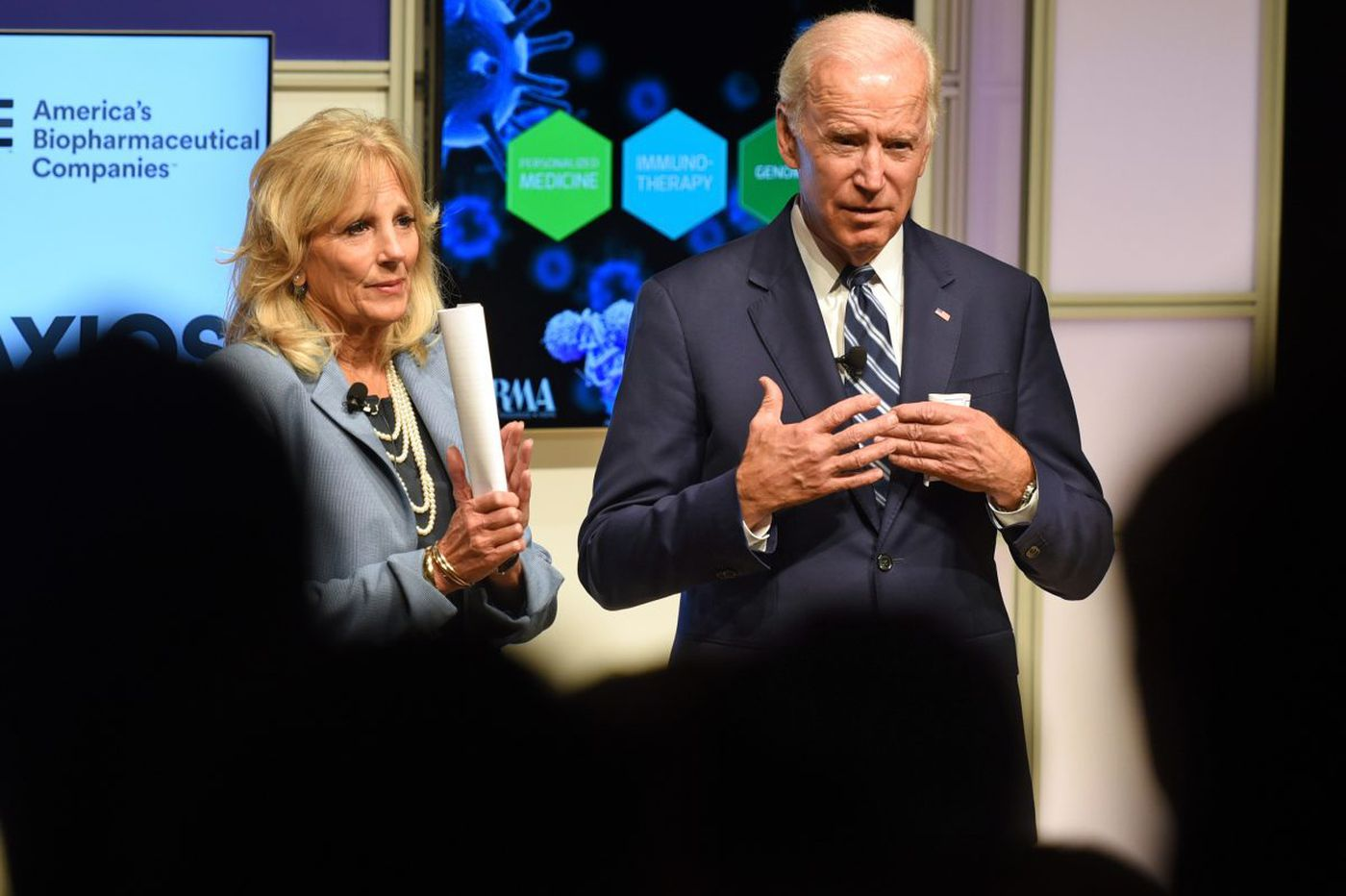 Joe Biden in Philly: To cure cancer, data must be shared
