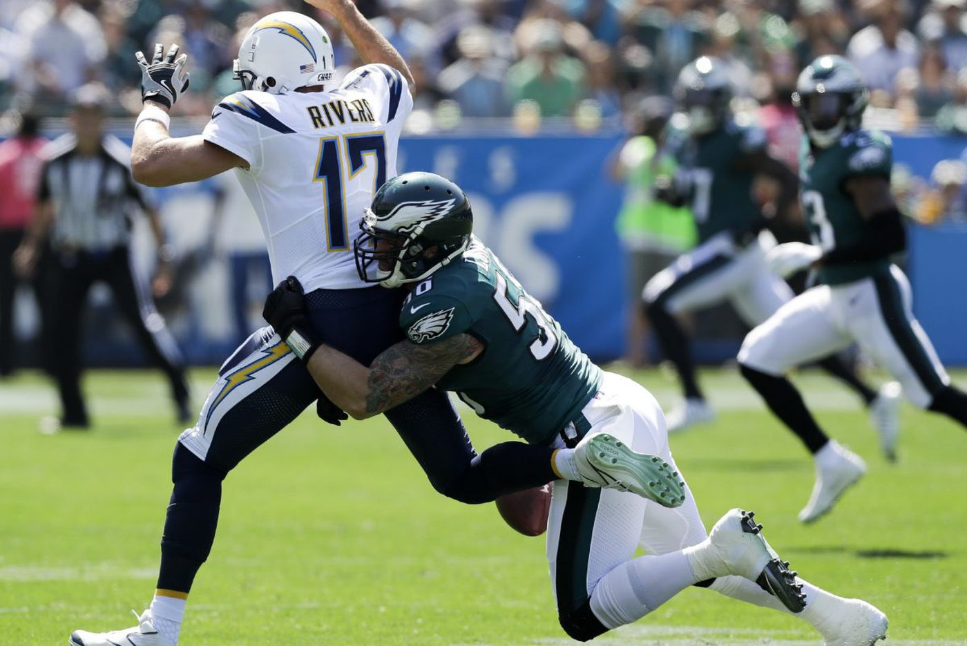 Eagles' early-season success isn't just maturity; it's also because of newcomers