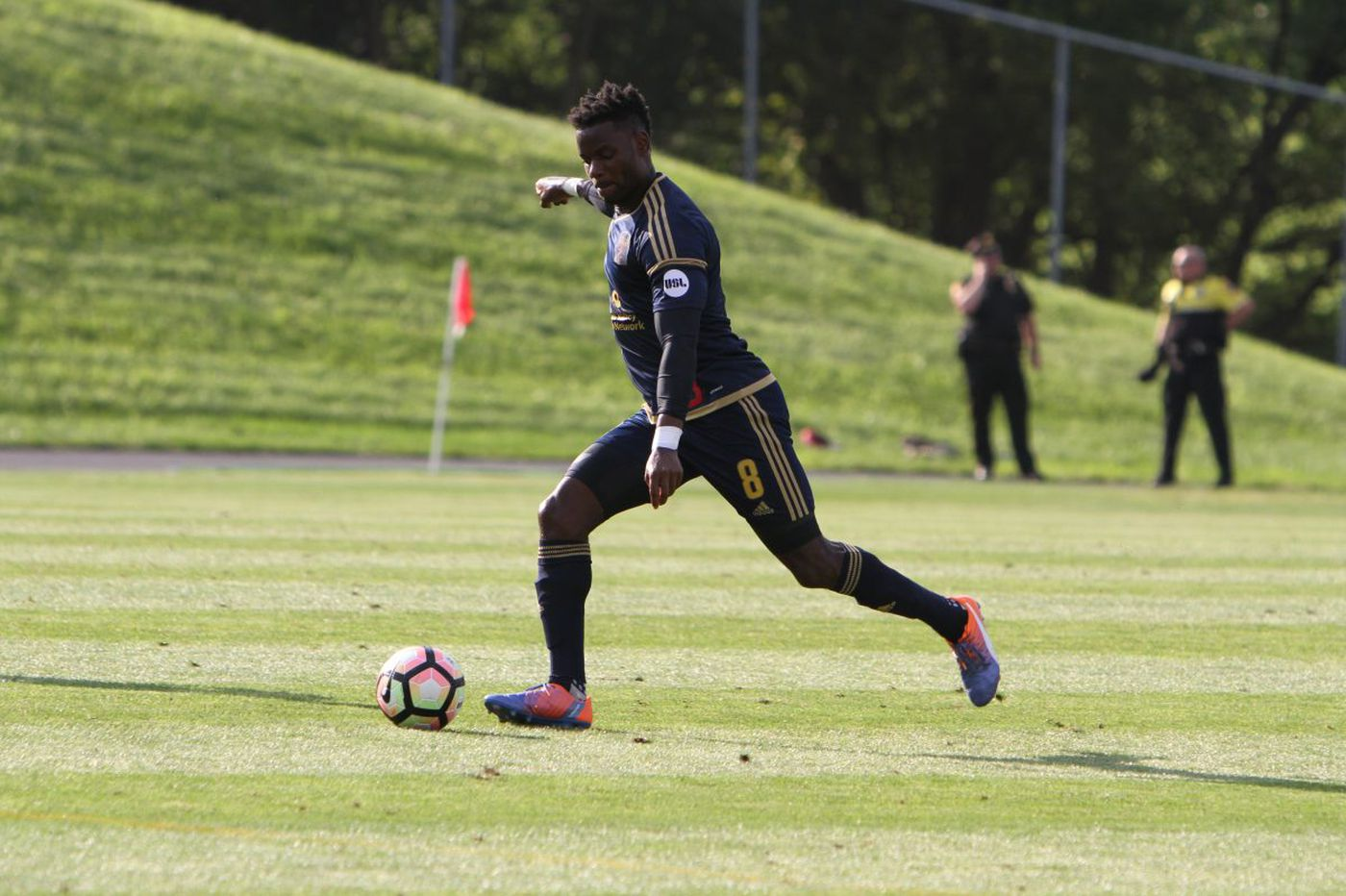 Union's Maurice Edu finally returns to field with Bethlehem Steel
