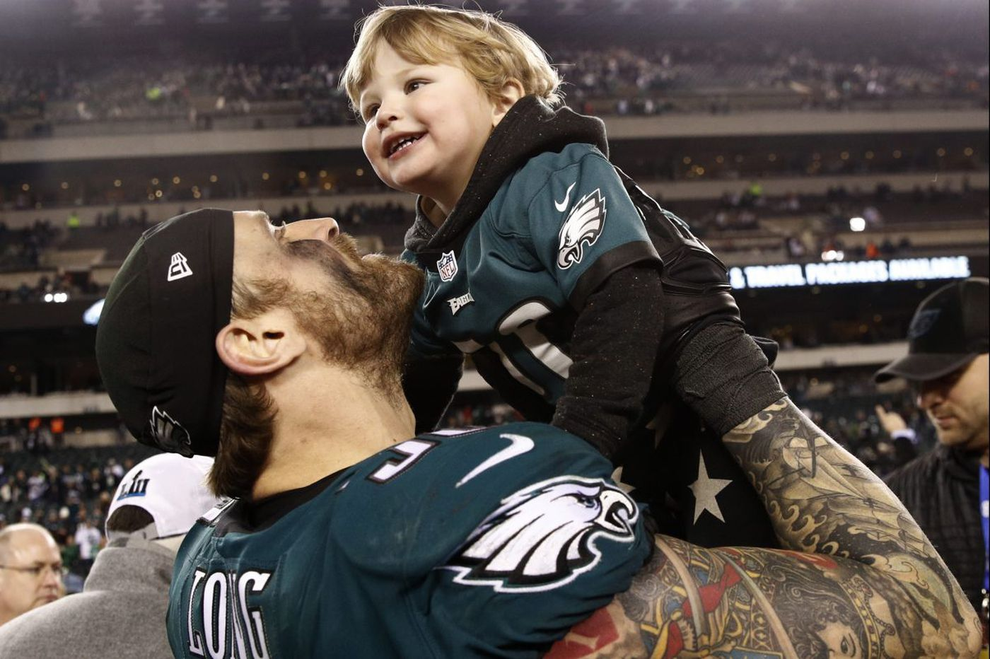 How Chris Long's journey to the Eagles and another Super Bowl was more than luck