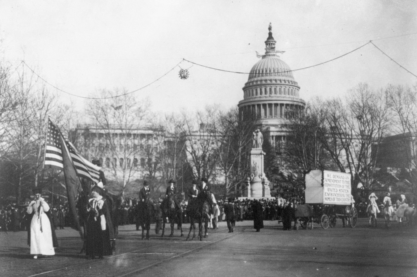 Labor rights mobilized women 100 years ago during suffrage — and now