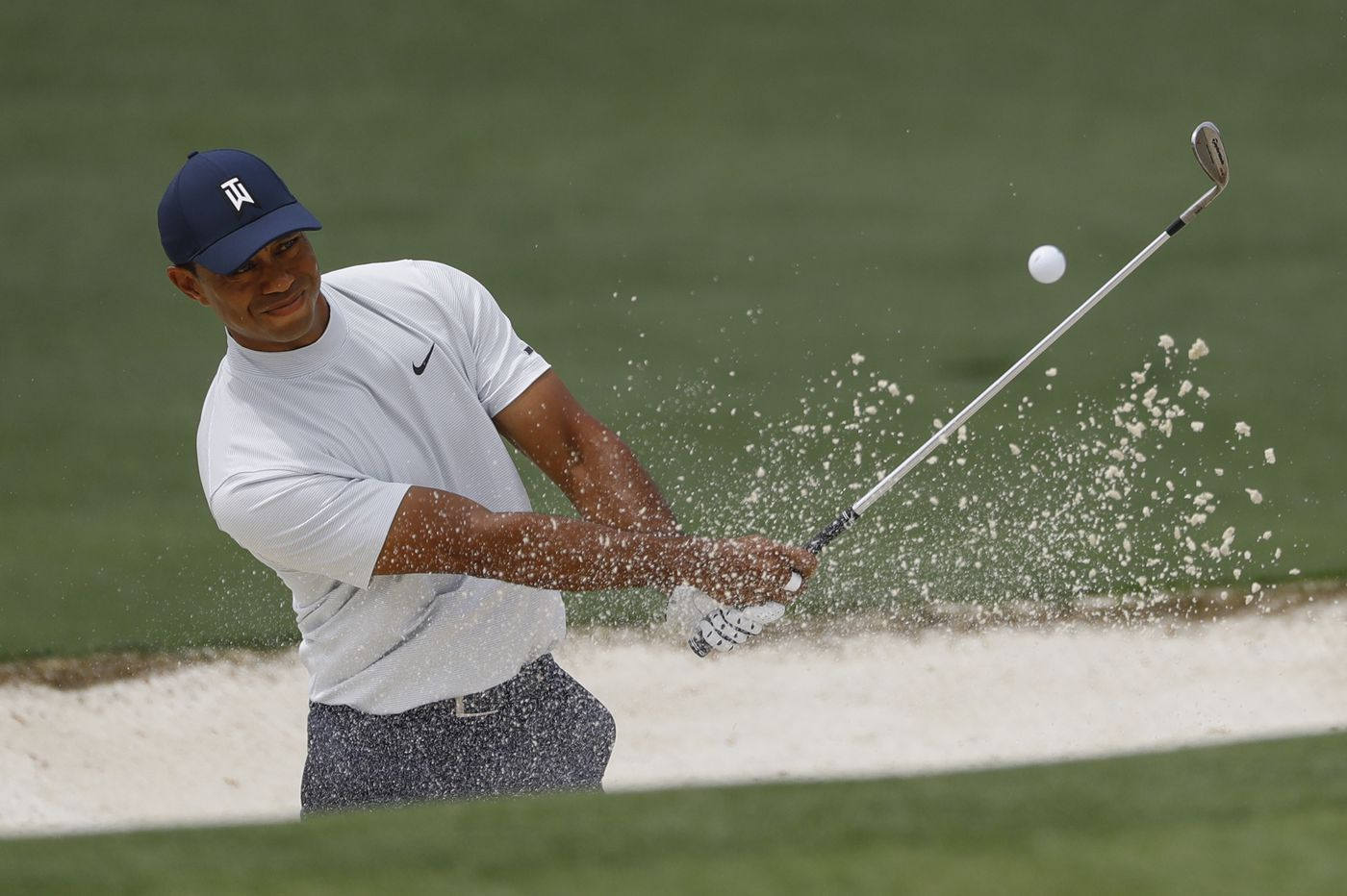 The Masters: Tiger Woods' winning putt to claim 15th major title