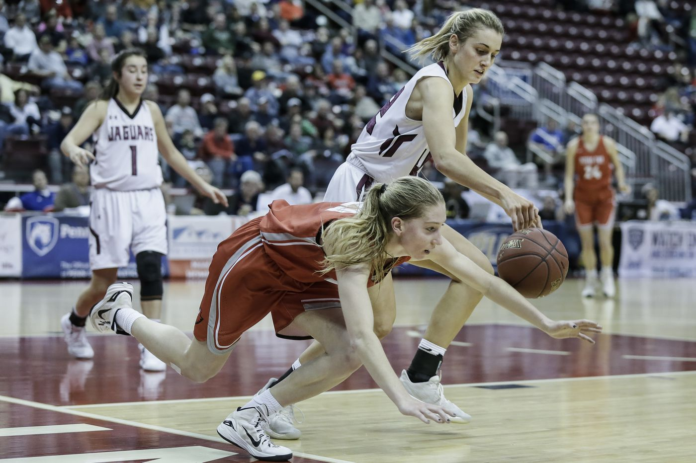 Garnet Valley falls in PIAA Class 6A girls' basketball state championship to Peters Township