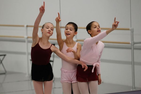 A magical moment for young dancers