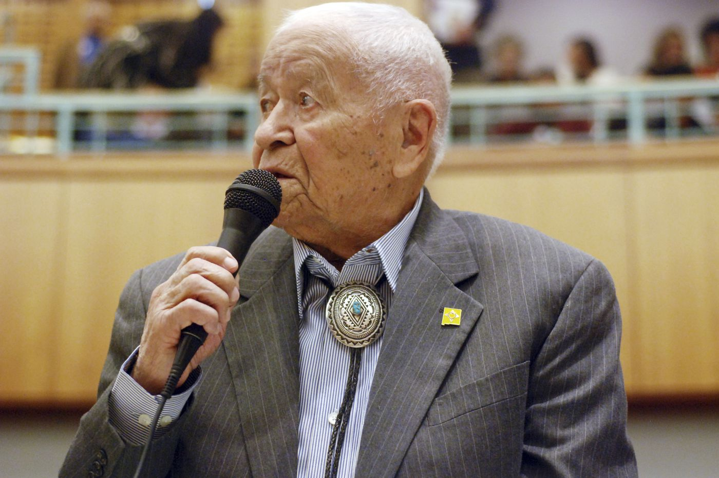 John Pinto, WWII Code Talker and longtime N.M. lawmaker, dies at 94