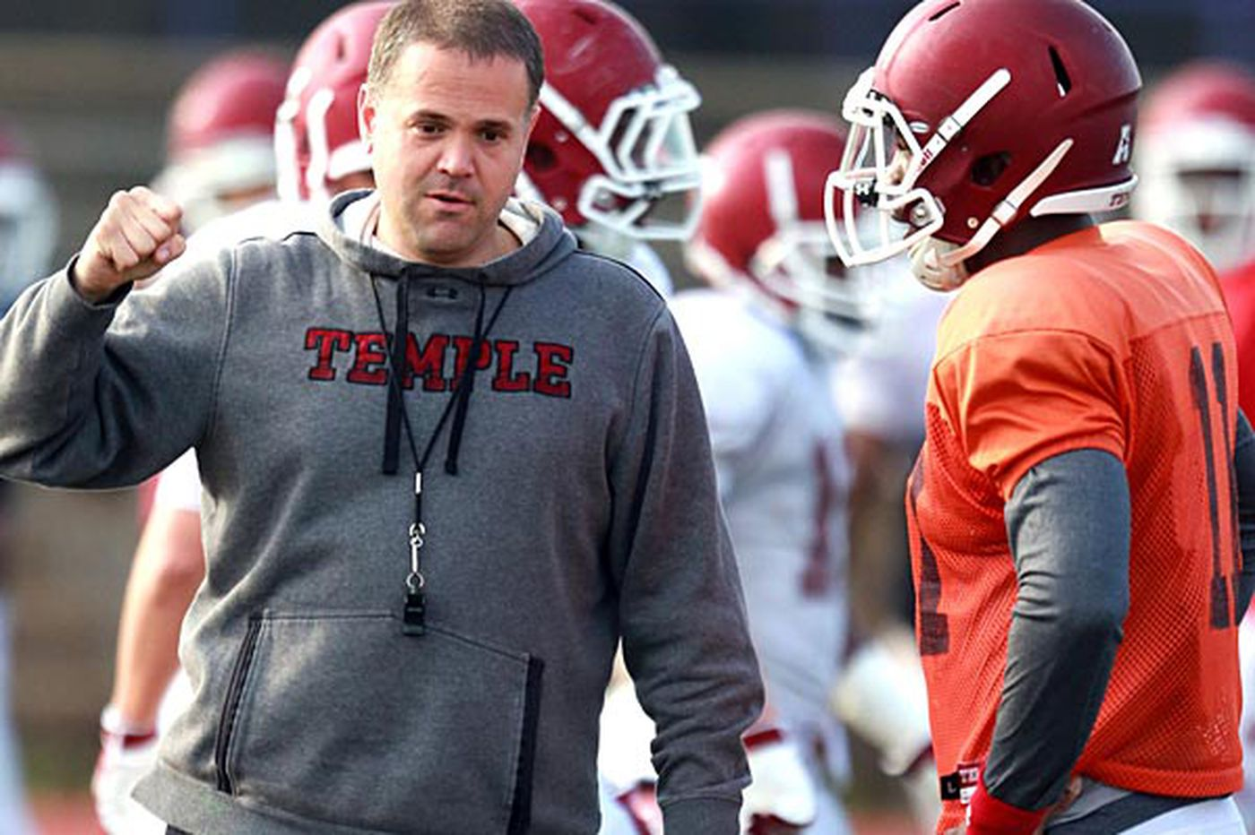Rhule looks for tougher Temple team