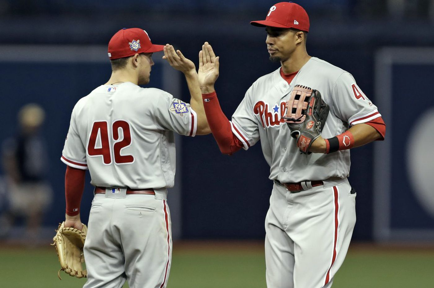Aaron Altherr's diving catch started with Phillies' emphasis on analytics