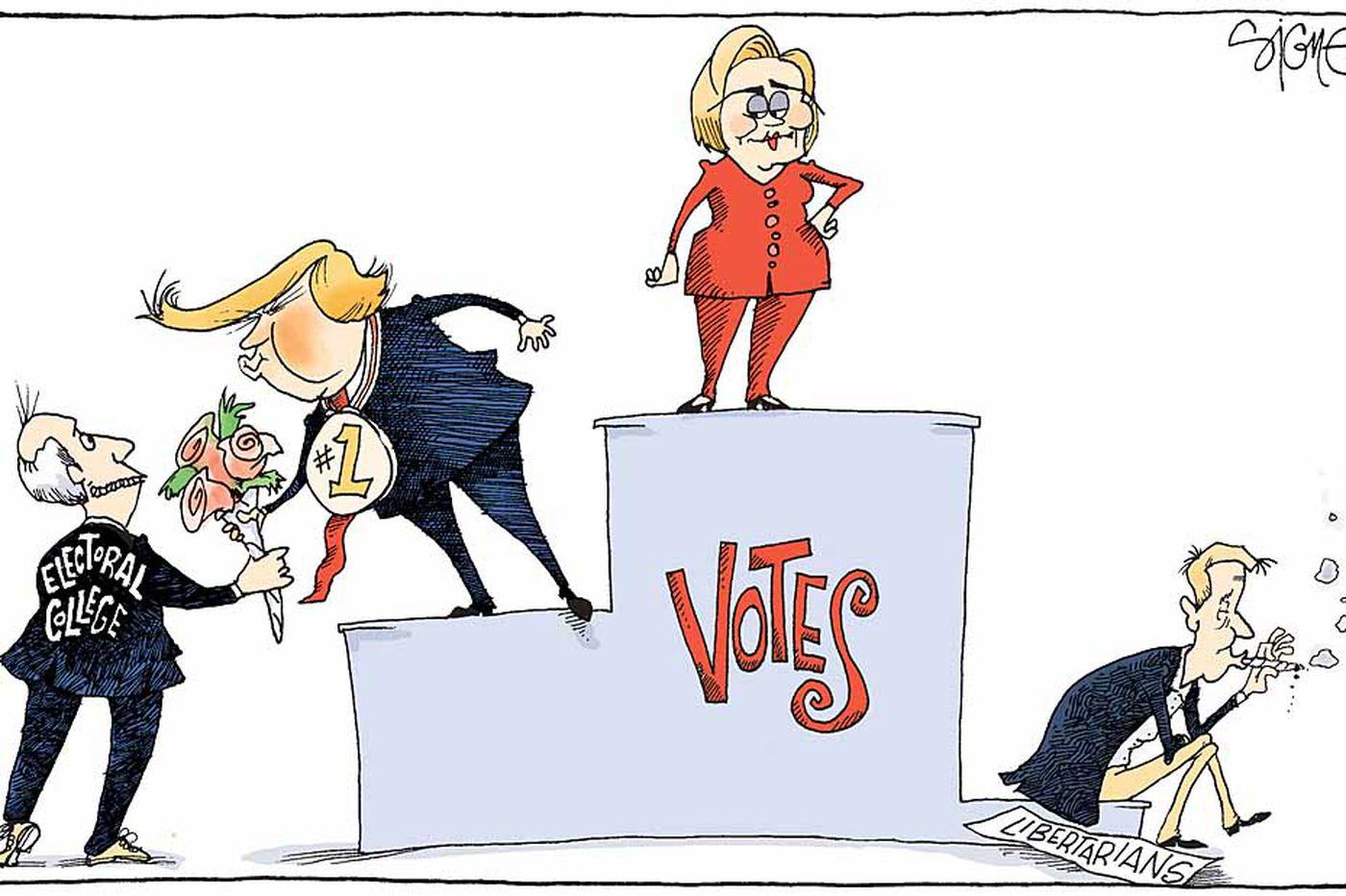 Daily Signe Cartoon 11/30/16