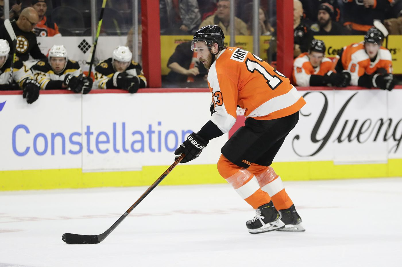 Flyers face Bruins as push to Stanley Cup playoffs begins with teams' first meaningful game in nearly 5 months
