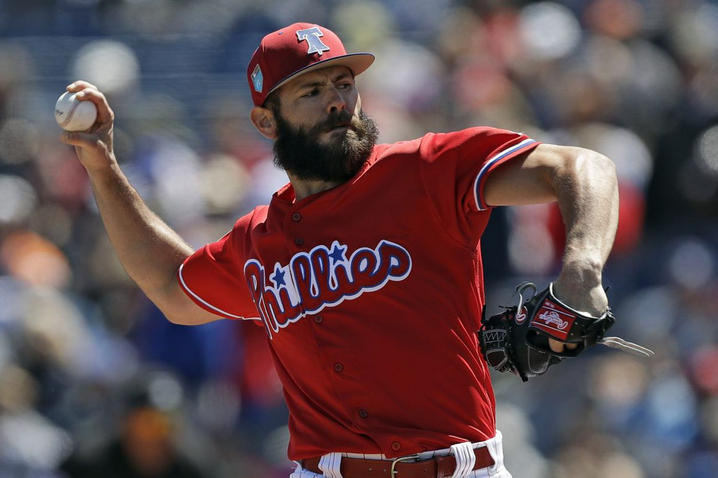 Jake Arrieta pitches two innings in spring debut; 'it felt great'