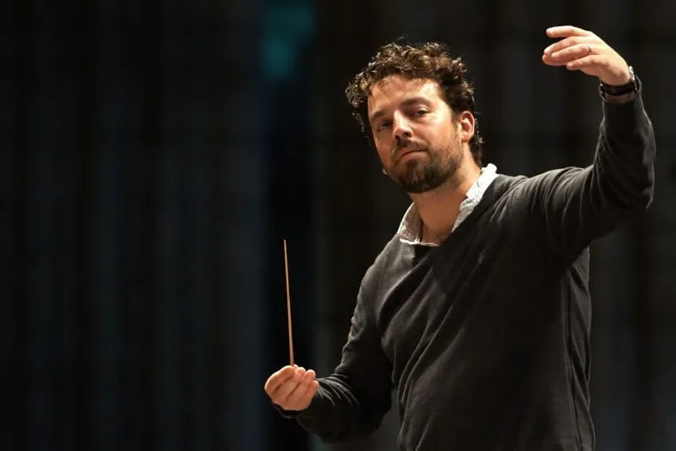 James Gaffigan, guest conductor in a Gershwin/Dvorak/Barber concert on the day after Thanksgiving.
