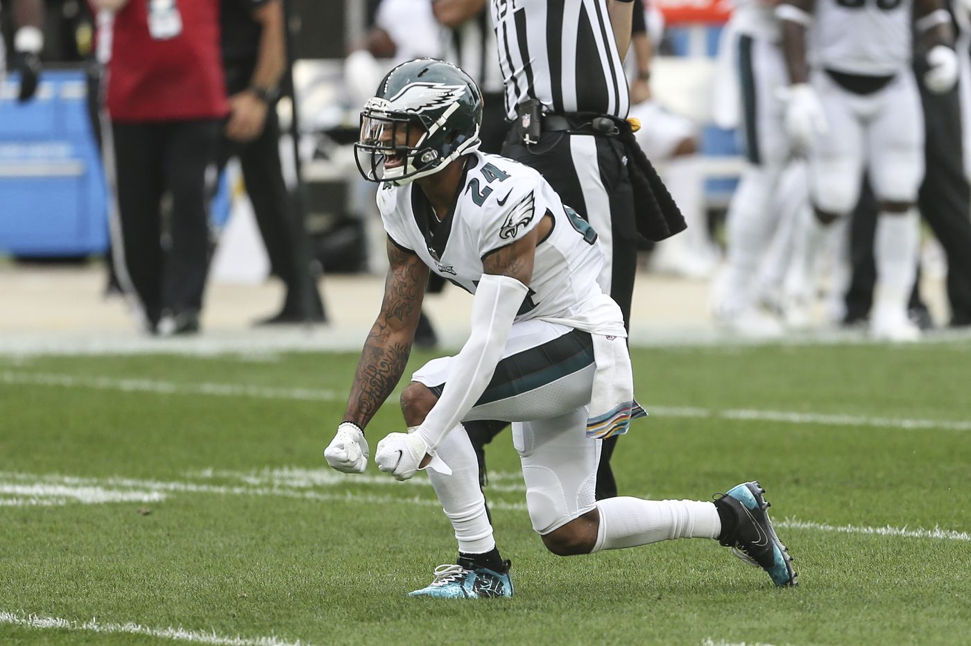 Slay to play Sunday for Eagles, but Jackson is questionable, and Jeffery is out