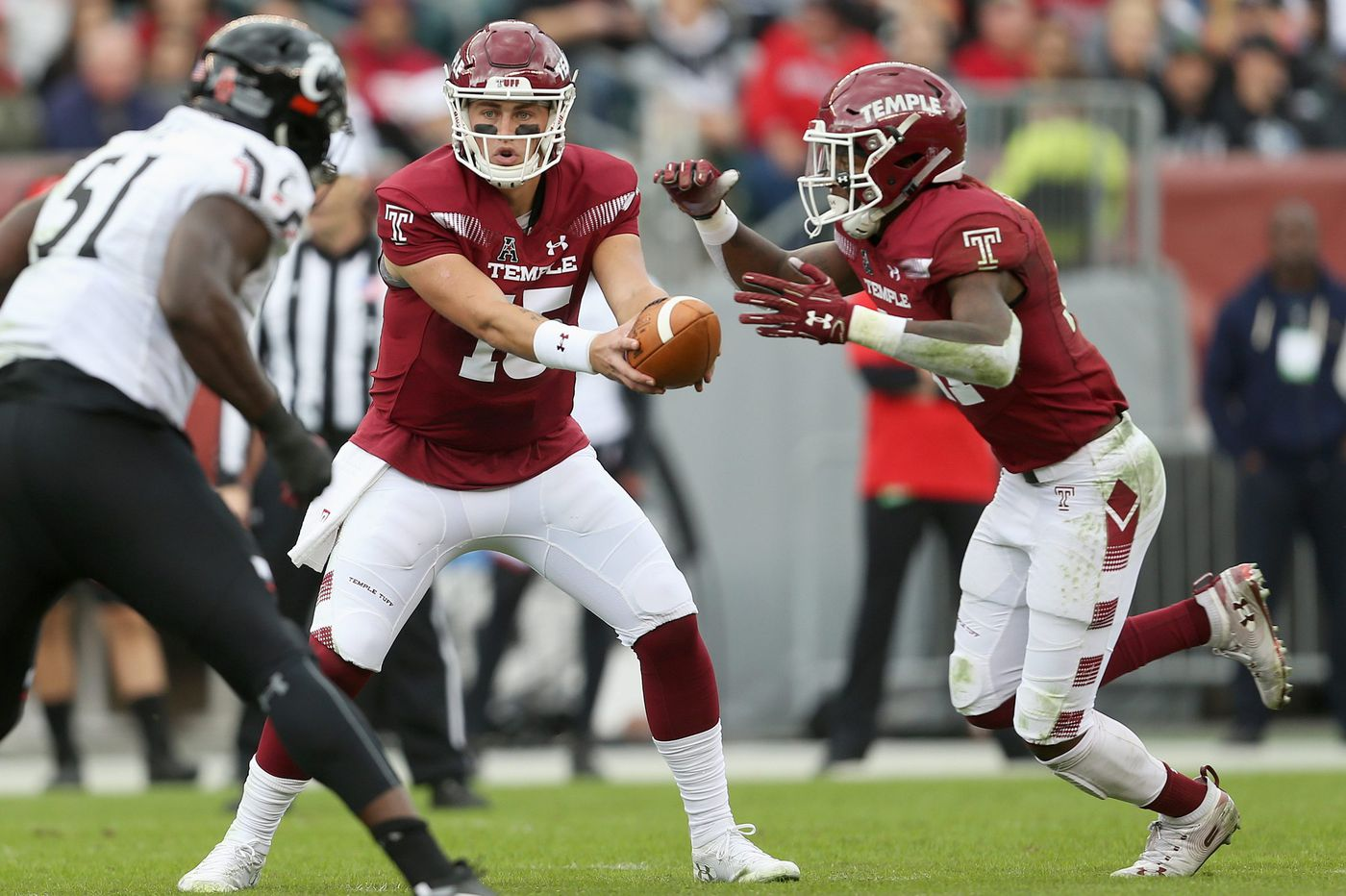 Temple QB Anthony Russo out for UConn game with injury