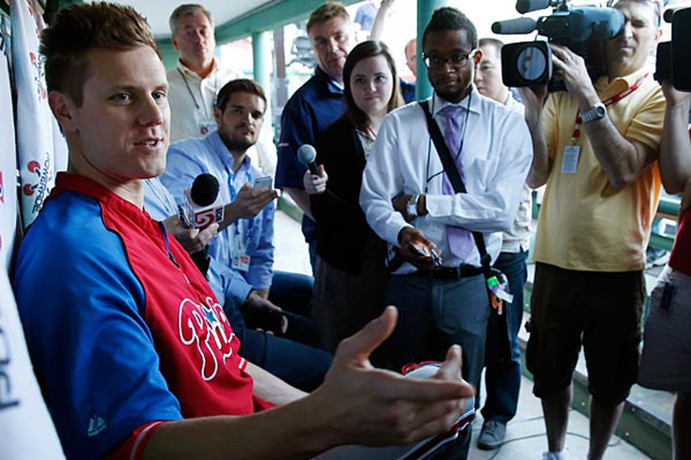 Papelbon could see himself in Boston