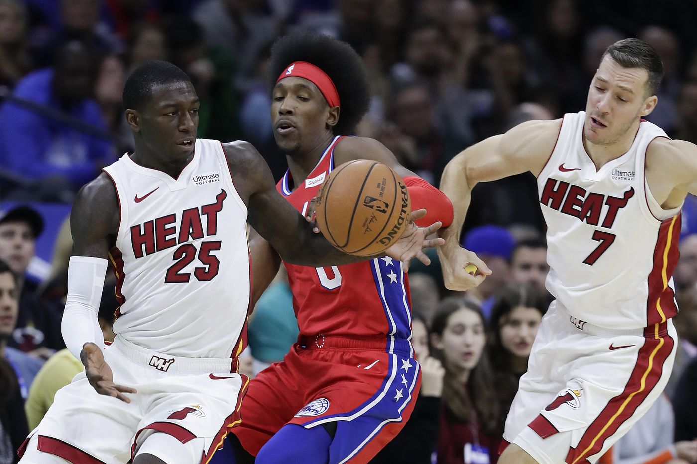 Sixers' Josh Richardson is practicing caution with his latest injury