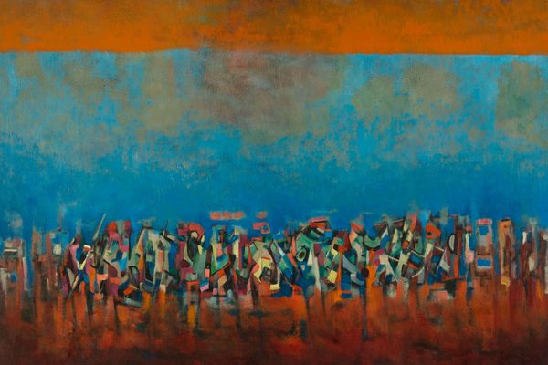 Art: Catching up with abstract expressionist Norman Lewis
