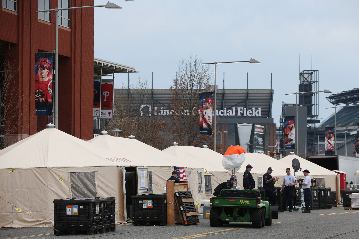 With Phillies' home opener on hold, Citizens Bank Park has become a haunting sight | David Murphy