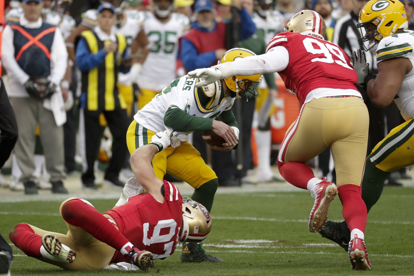 NFL picks: Vegas Vic rolling with the Packers over the 49ers on Thursday Night Football