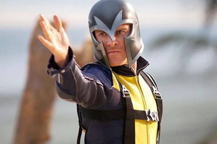 Michael Fassbender as Erik Lehnsherr/Magneto. The action adventure is set in 1962, during the Cuban missile crisis.