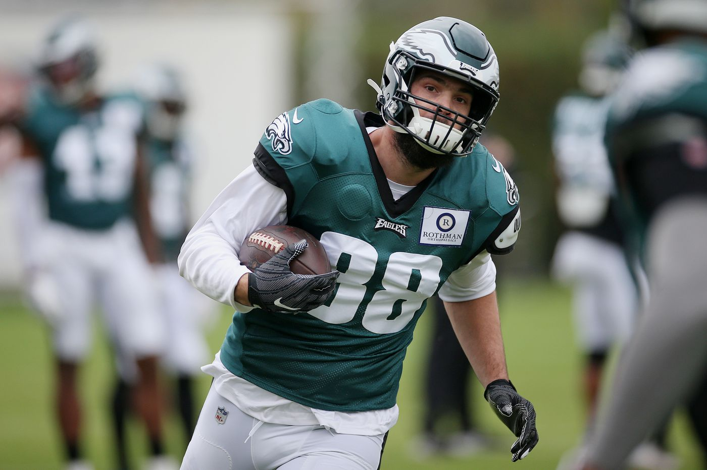 For Eagles quarterback Carson Wentz, help is on the way as Jalen Reagor, Dallas Goedert, and Jason Peters return to practice