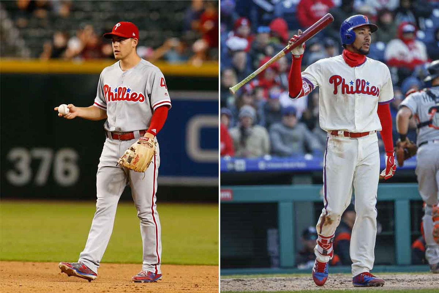Phillies facing a decision on whether to send down Scott Kingery or J.P. Crawford