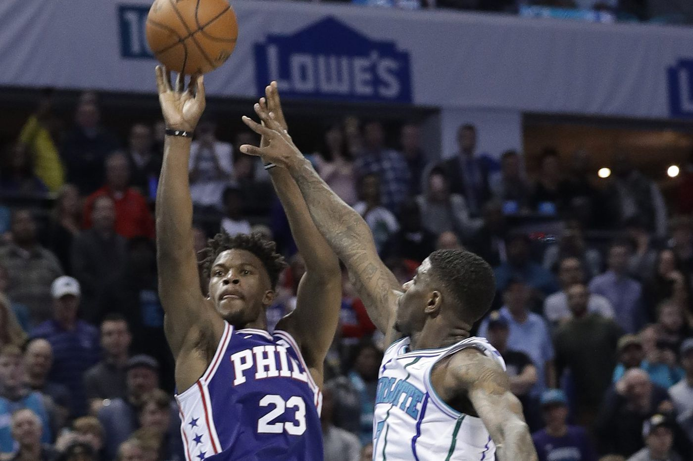 Jimmy Butler drains game-winner to lead Sixers past Hornets in overtime