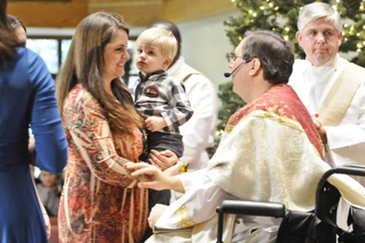 Mass in Camden County brightens military in Afghanistan