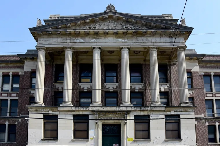 Germantown High School has been vacant since it closed in 2013. In 2017, a developer bought the property for about 6 percent of its assessed value, but now the city has listed it for sheriff's sale to collect unpaid property taxes.