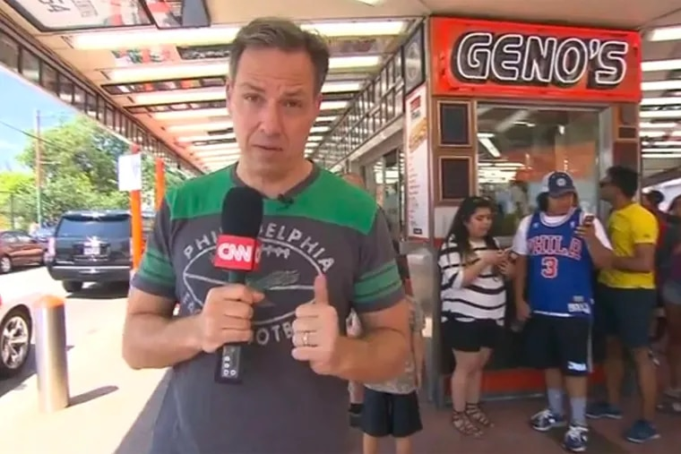 Jake Tapper's reports from Geno's Steaks in South Philadelphia during the 2016 Democratic National Convention.