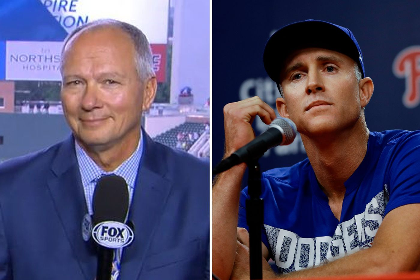 Chase Utley is target of a bizarre rant by Braves announcer Joe Simpson