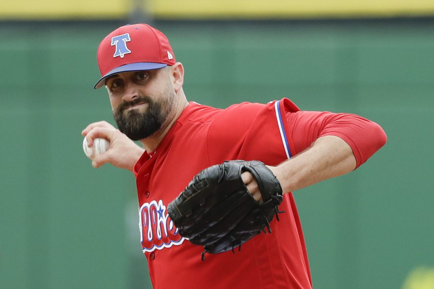 Pat Neshek unsure how long forearm injury will keep him out
