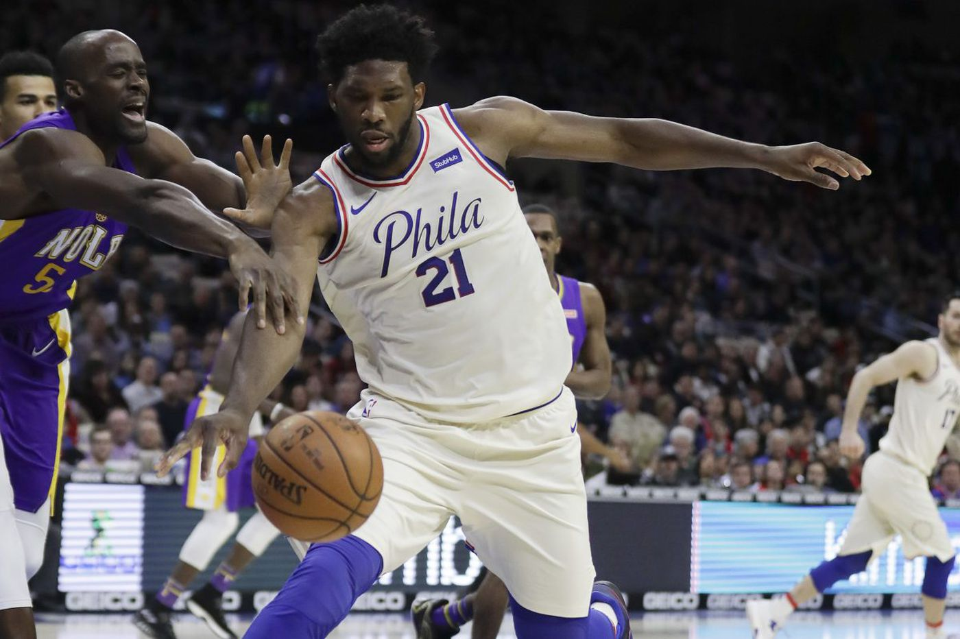 Sixers 100, Pelicans 82: Joel Embiid and Dario Saric lead a wire-to-wire rout, and other quick observations